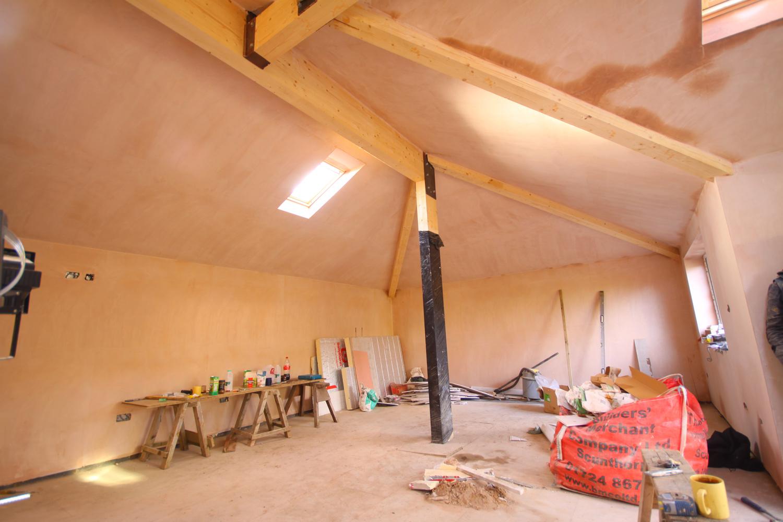 plaster-work
